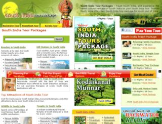 south-india-tour-package.com screenshot