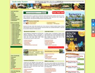 south-india-tourism.com screenshot