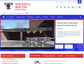 south.usd259.org screenshot