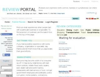 south_africa.reviewportal.org screenshot