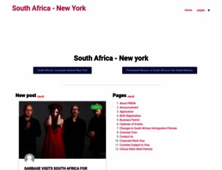 southafrica-newyork.net screenshot