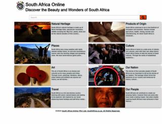 southafrica.co.za screenshot