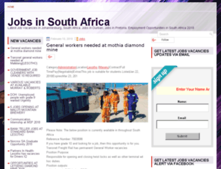 southafrica.jobs-employment.com screenshot