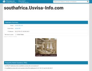 southafrica.usvisa-info.com.ipaddress.com screenshot