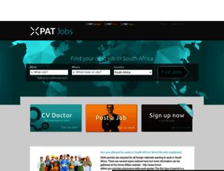 southafrica.xpatjobs.com screenshot
