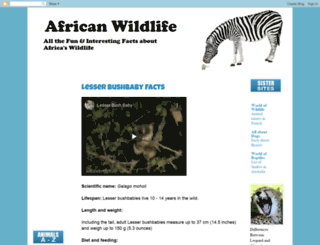southafrican-wildlife.blogspot.com screenshot