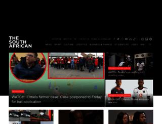 southafrican.co.uk screenshot