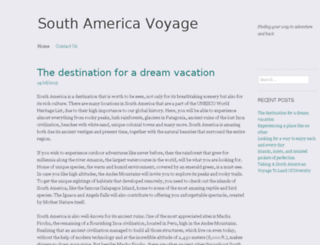 southamericavoyage.net screenshot
