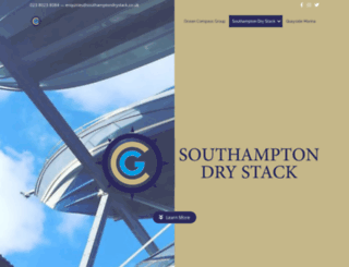 southamptondrystack.co.uk screenshot