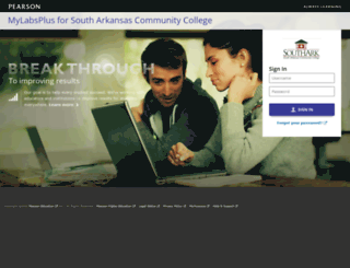 southark.mylabsplus.com screenshot