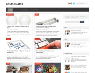 southasiafair.com screenshot