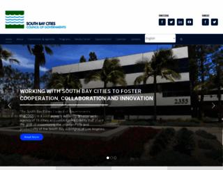 southbaycities.org screenshot