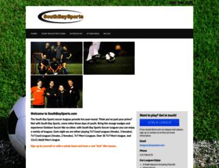 southbaysports.leagueapps.com screenshot