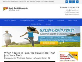 southbendchiropracticclinic.com screenshot