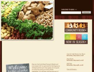 southbendfarmersmarket.net screenshot