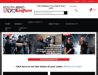 southbenduniform.com screenshot