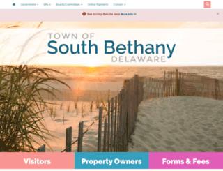 southbethany.org screenshot