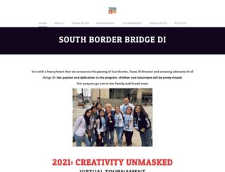 southborder.txdi.org screenshot