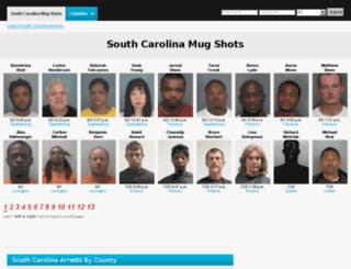 southcarolina.mugshotsdatabase.com screenshot