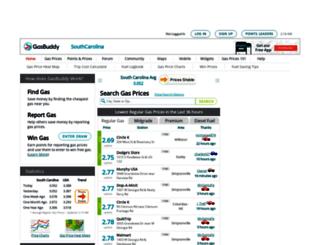 southcarolinagasprices.com screenshot