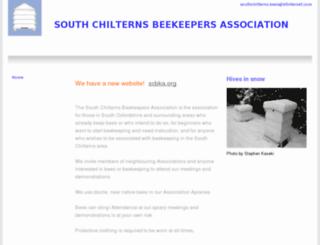 southchilternsbeekeepers.org.uk screenshot