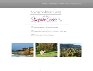 southcoastbnbs.com.au screenshot
