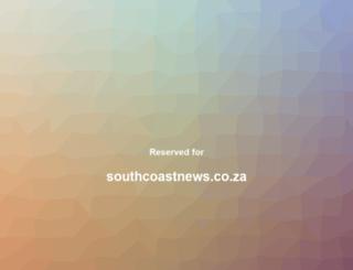 southcoastnews.co.za screenshot