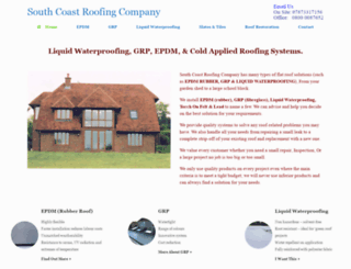 southcoastroofingcompany.co.uk screenshot