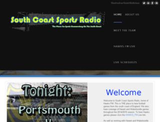 southcoastsportsradio.co.uk screenshot