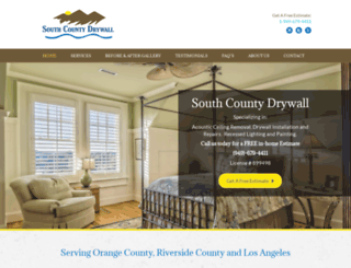southcountydrywall.com screenshot