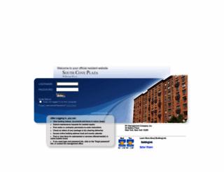 southcoveresidents.buildinglink.com screenshot