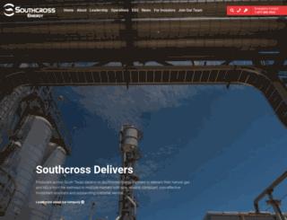 southcrossenergy.com screenshot