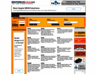 southdelhionline.com screenshot