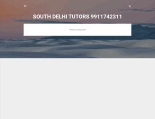 southdelhitutors.com screenshot