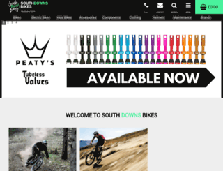 southdownsbikes.com screenshot