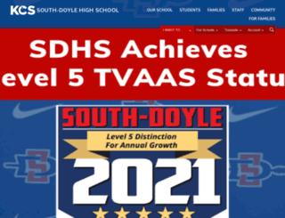 southdoylehs.knoxschools.org screenshot
