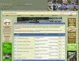 southeastflyfishingforum.com screenshot