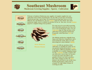 southeastmushroom.com screenshot