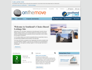 southend-on-the-move.org.uk screenshot