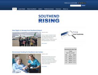 southendrising.com screenshot