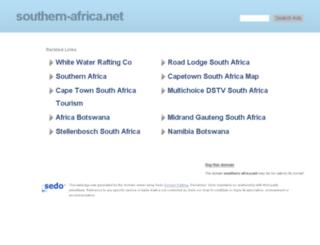 southern-africa.net screenshot