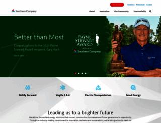 southerncompany.com screenshot