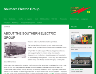 southernelectric.org.uk screenshot