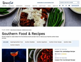 southernfood.about.com screenshot