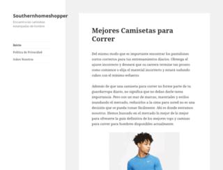 southernhomeshopper.com screenshot