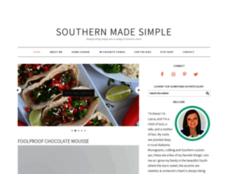 southernmadesimple.com screenshot