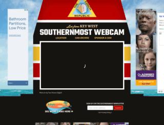 southernmostpointwebcam.com screenshot