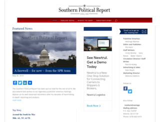 southernpoliticalreport.com screenshot