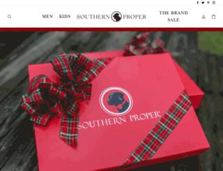 southernproper.com screenshot