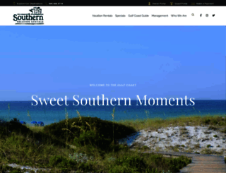 southernresorts.com screenshot